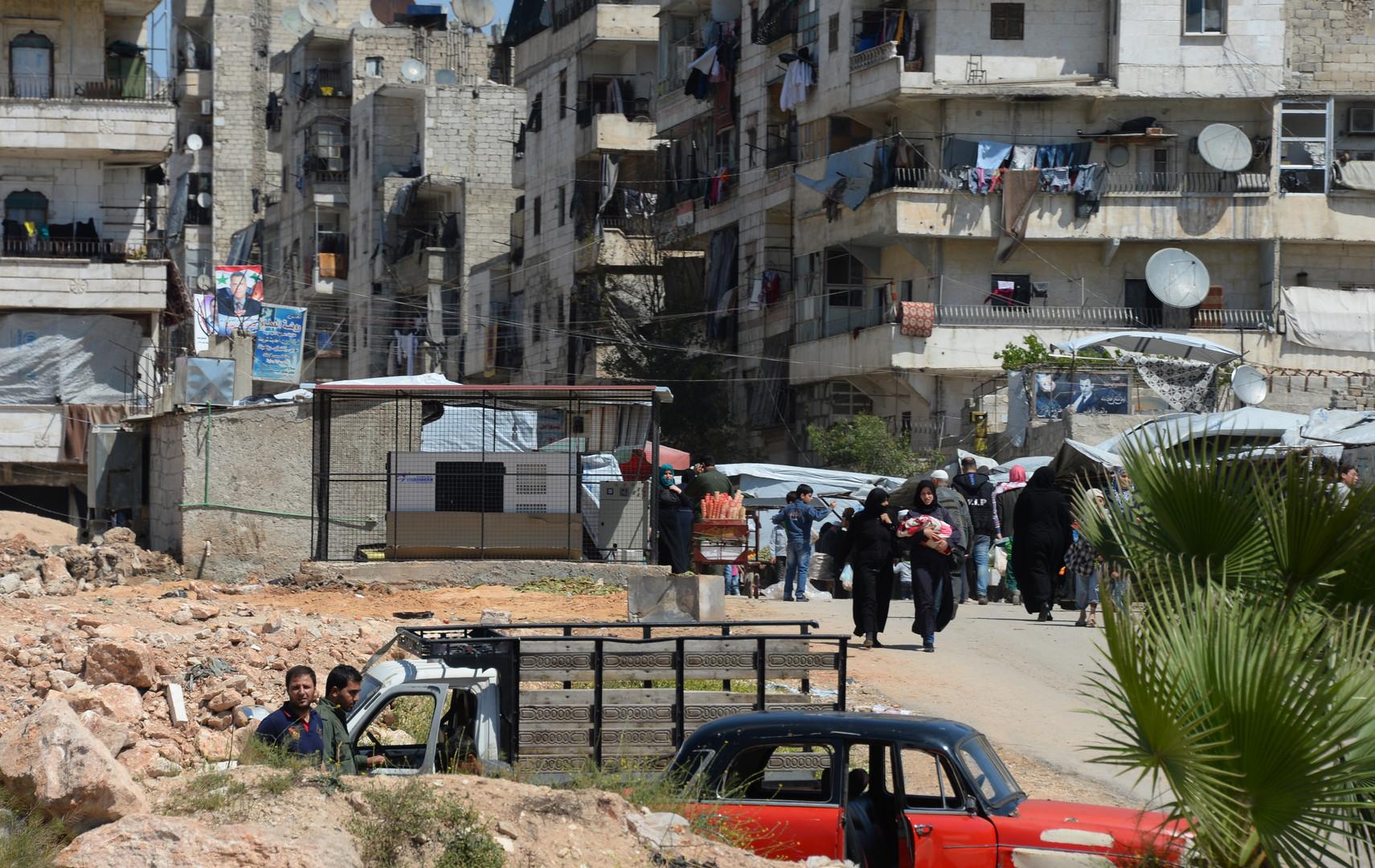 Минобороны России: Три гуманитарных коридора созданы в Алеппо