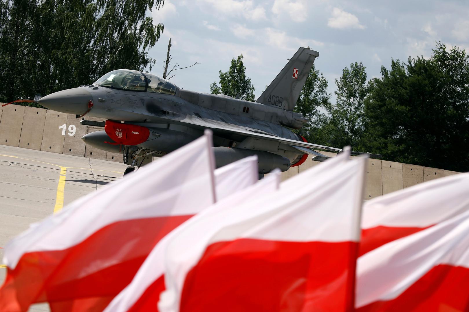 В Минобороны Польши заявили о перехвате российского легкомоторного самолёта