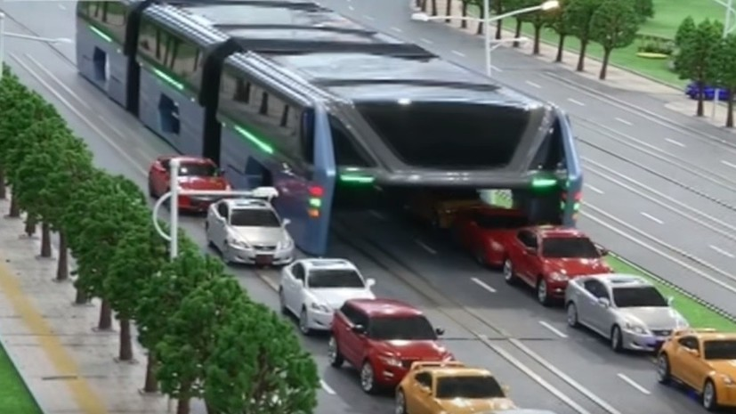 В Китае испытали транспорт будущего