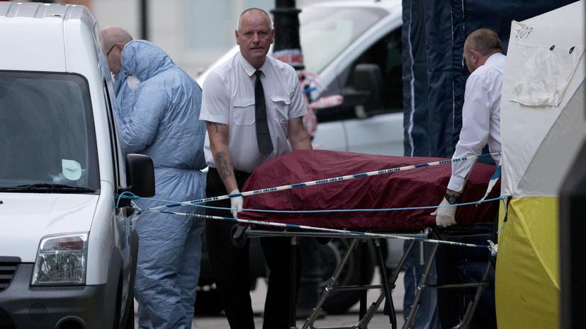 В центре Лондона мужчина напал на прохожих, погибла женщина, есть раненые