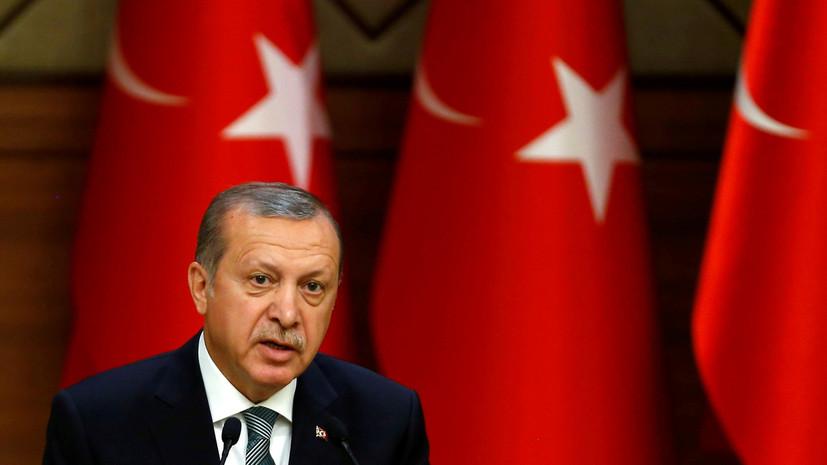 Эрдоган выразил готовность подписать закон о введении смертной казни в Турции