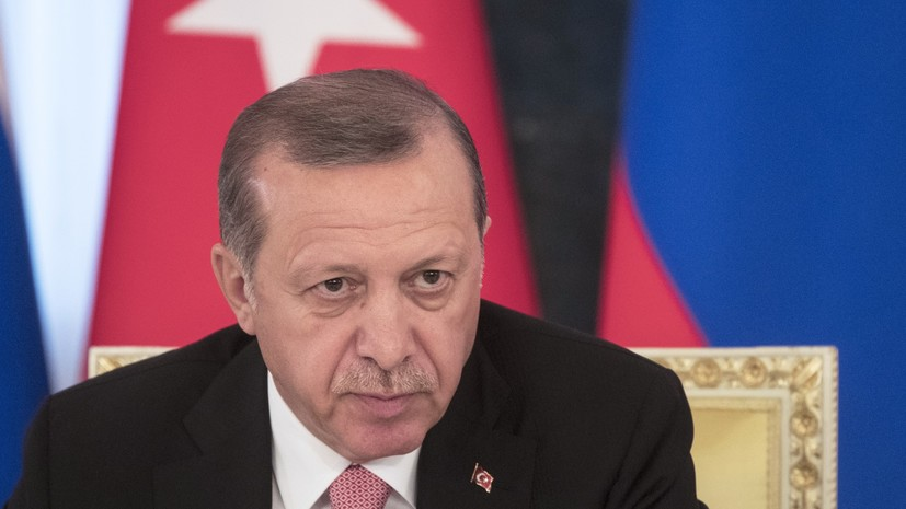 Эрдоган назвал «трагической ситуацией» инцидент со сбитым Су-24
