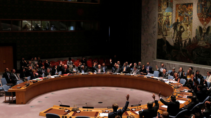 Совбез ООН обсудит обстановку на границе России и Украины