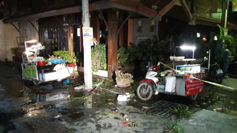 На курорте в Таиланде прогремели два взрыва, пострадали 24 человека