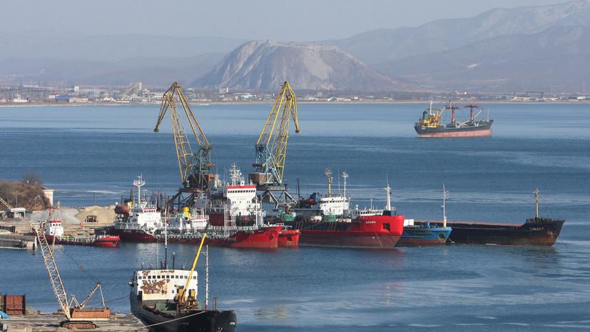 Три сирийских моряка вНаходке просят отправить ихна отчизну