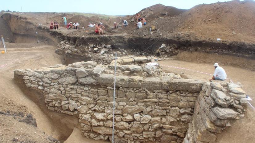 Учёные обнаружили в Крыму античную крепость, построенную более 2 тыс. лет назад