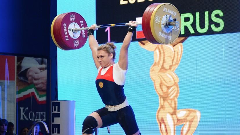 Российских тяжелоатлетов отстранят на один год после Олимпиады в Рио