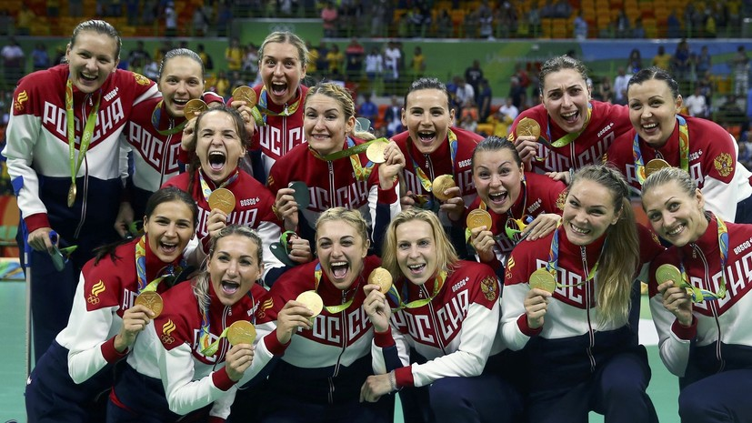 Сборная России за полтора часа завоевала четыре золотые медали в Рио и обошла Германию