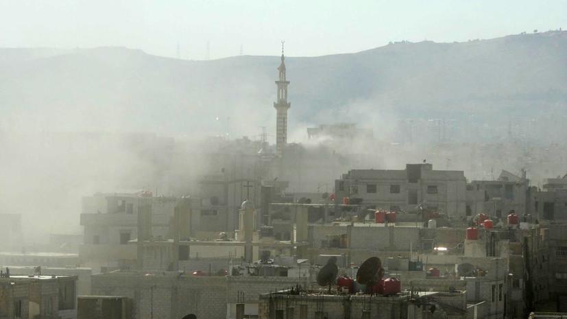 Французский генерал: Химатака на Гуту могла быть делом рук сирийской оппозиции