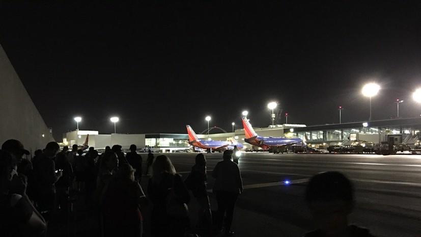 В аэропорту Лос-Анджелеса произошла стрельба