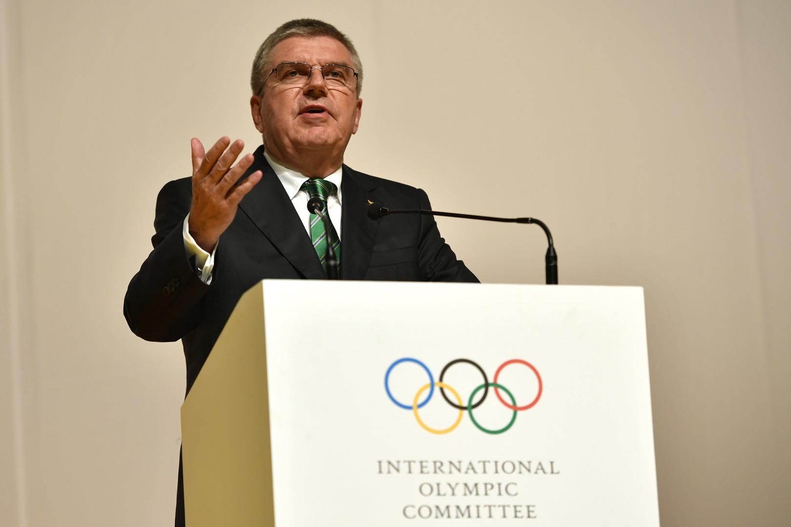 Глава МОК: Решение о допуске российских атлетов в Рио основано на справедливости