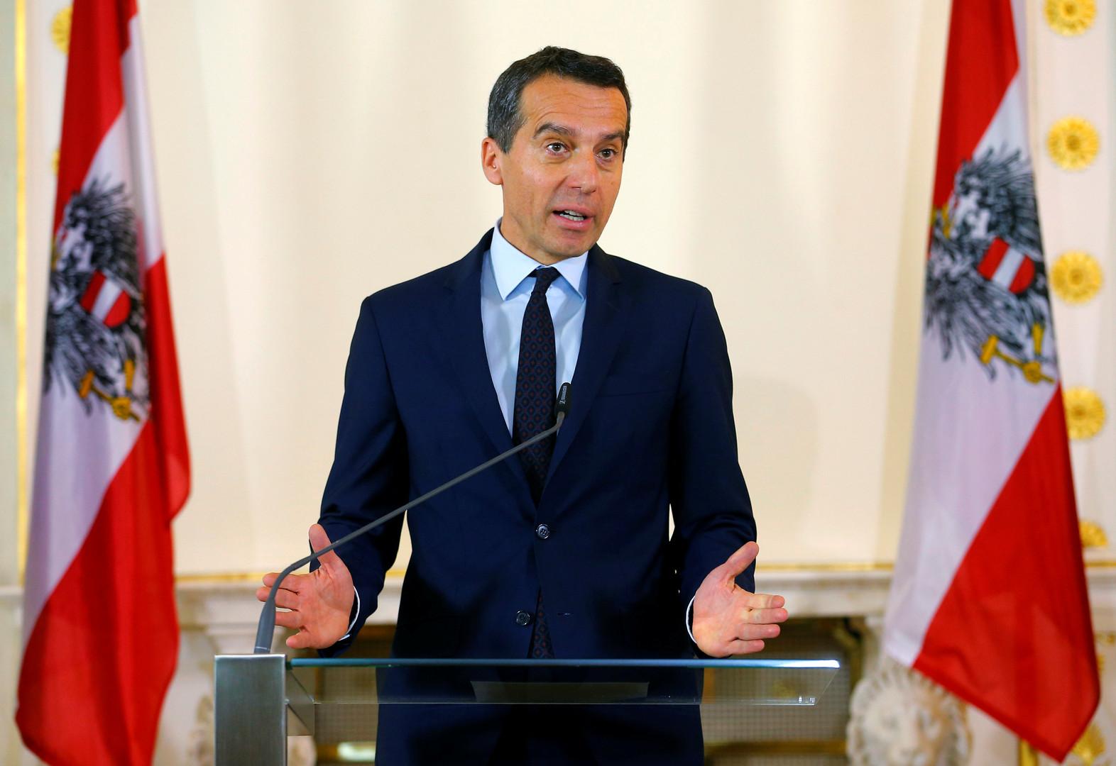 Канцлер Австрии назвал переговоры с Турцией о вступлении в ЕС «дипломатической фикцией»