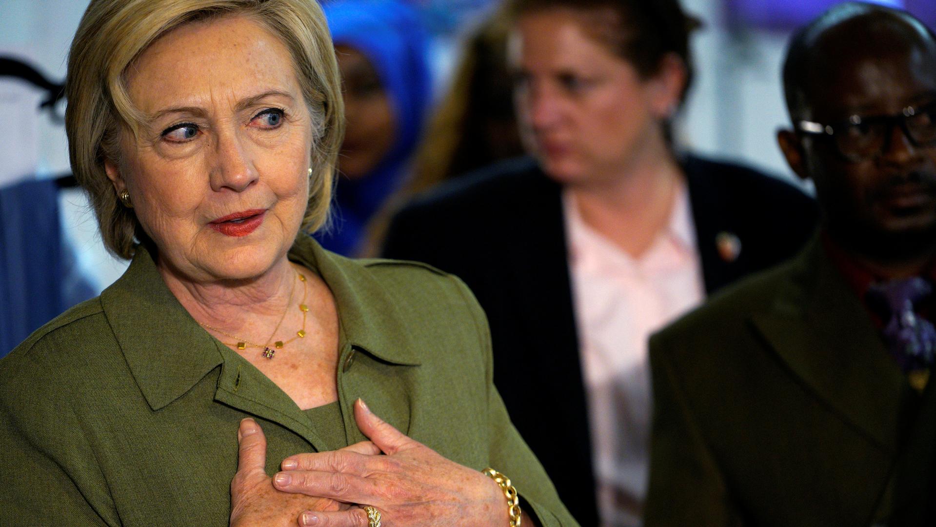 Пользователи Twitter раскритиковали Клинтон за видео о связи Трампа и Путина