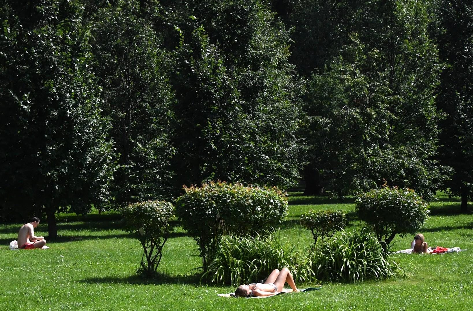 Сегодня в Москве ожидается самый жаркий день в году