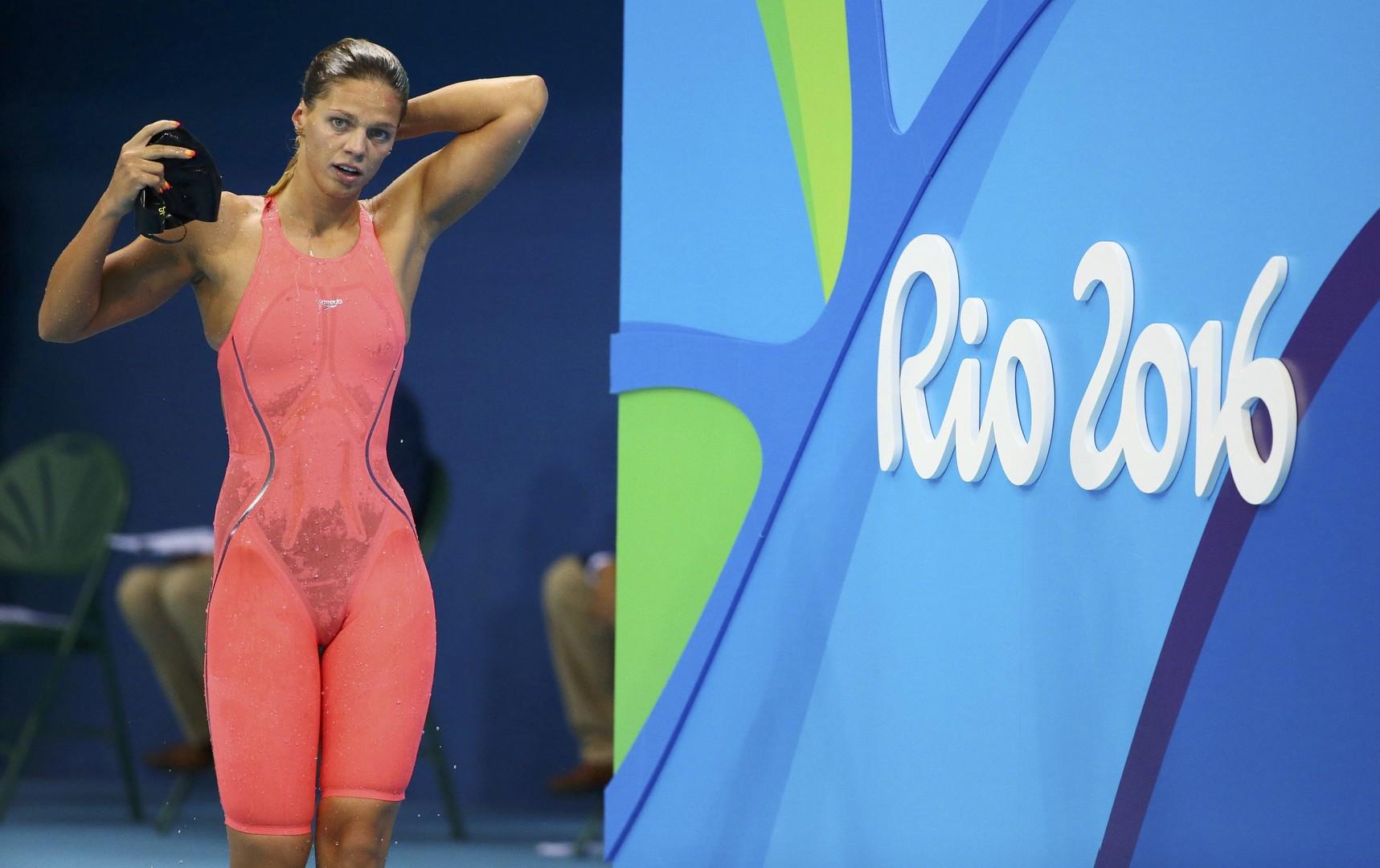 Пловчиха Юлия Ефимова завоевала серебряную медаль на Олимпиаде в Рио
