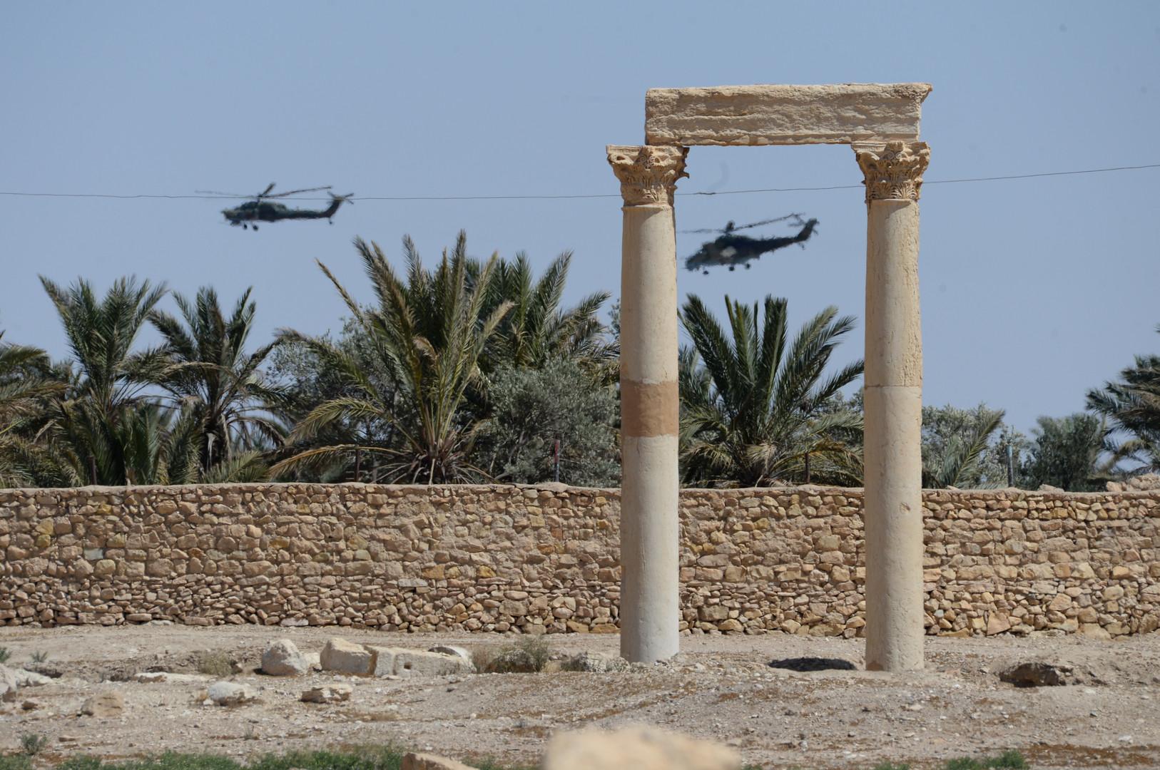 По итогам сирийской кампании российским вертолётам установят новые лопасти