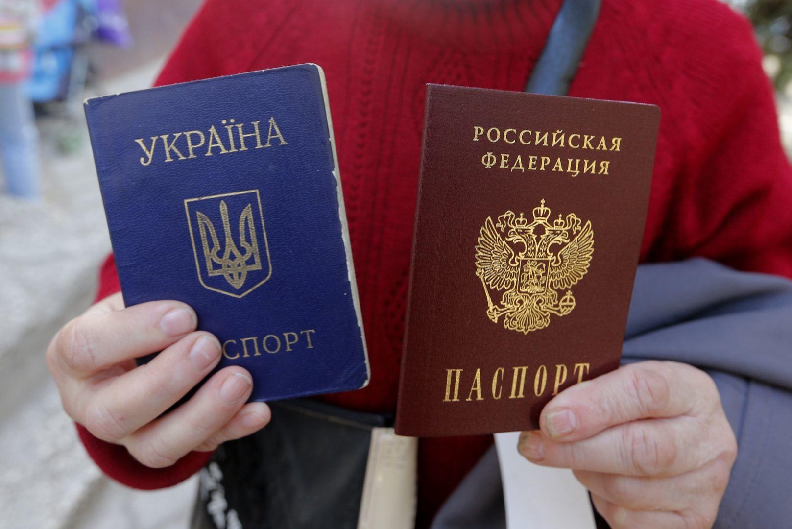Украина снова задумалась о введении виз с Россией