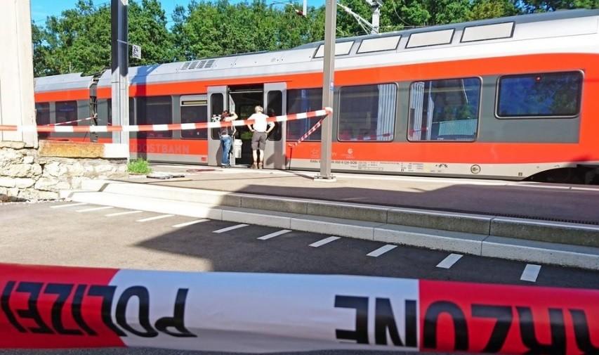 В Швейцарии неизвестный напал на пассажиров поезда, есть раненые