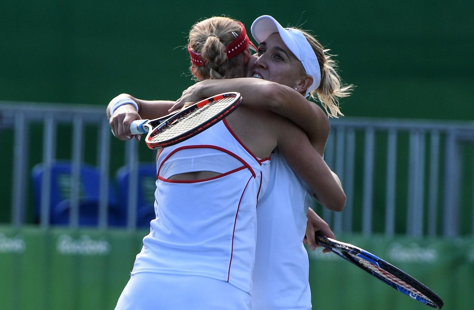 Российские теннисистки завоевали золото на Олимпиаде в Рио