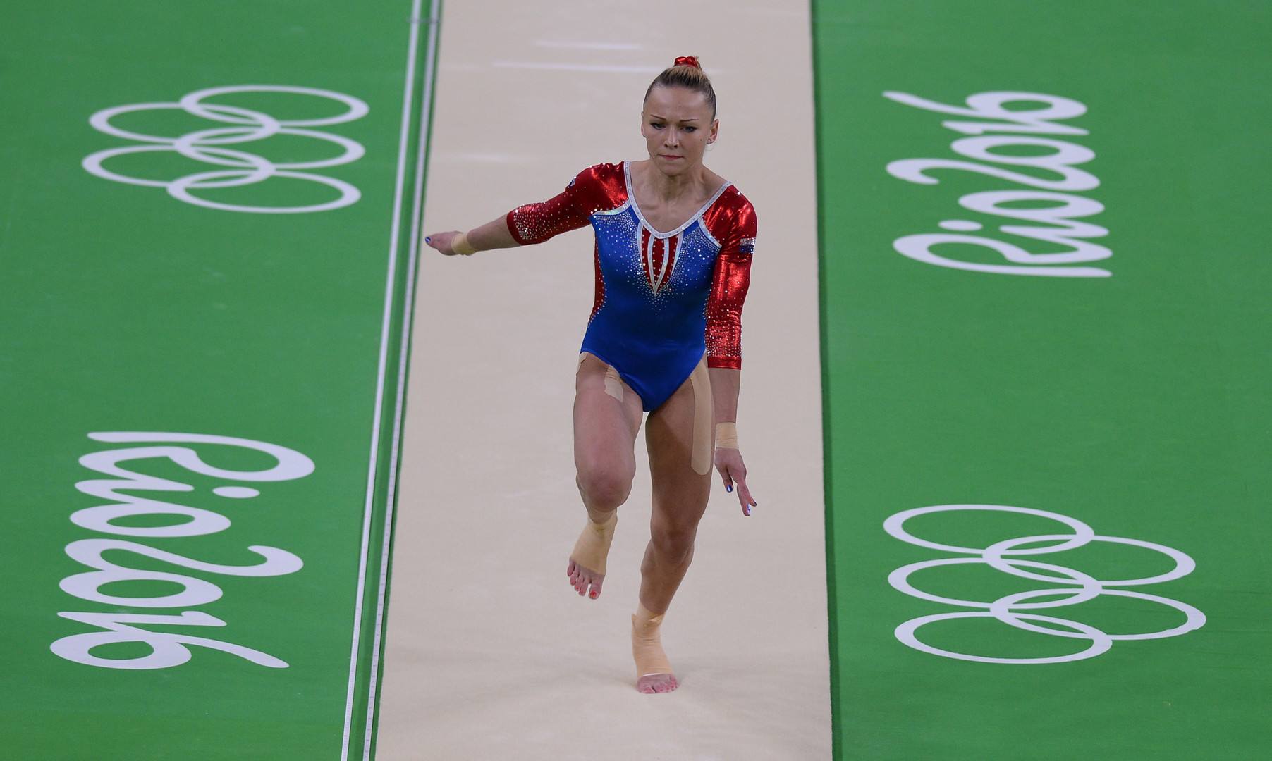 Мария Пасека завоевала серебро в опорном прыжке