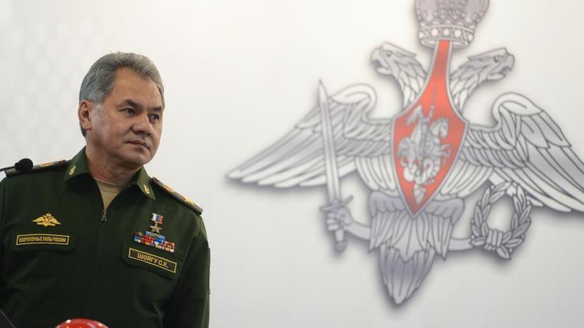 Сергей Шойгу: Россия и Запад по-разному понимают умеренную оппозицию в Сирии