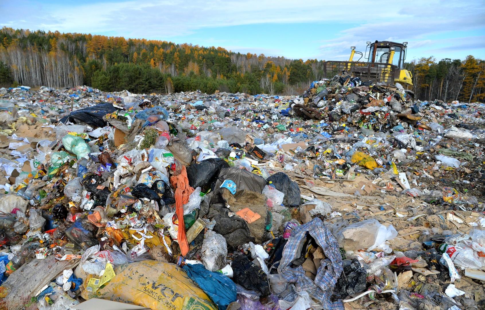 В России планируют создать электронную карту мусорных свалок