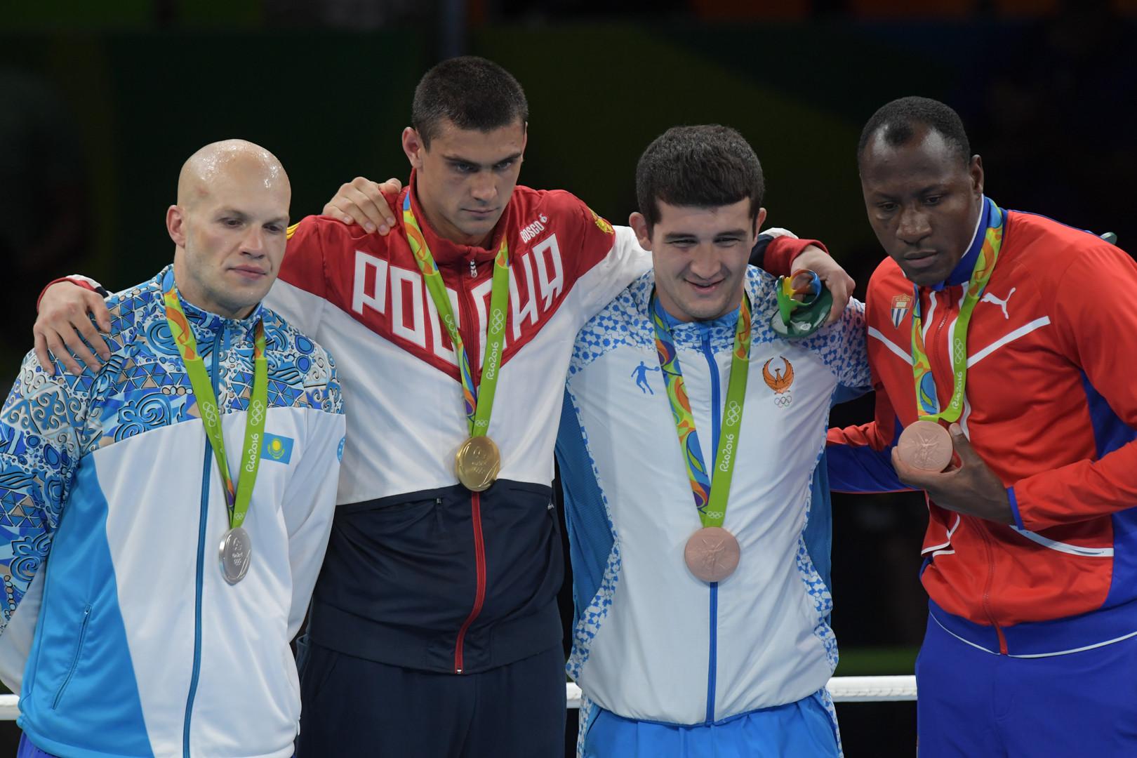 Российский боксёр Евгений Тищенко завоевал золото Олимпиады