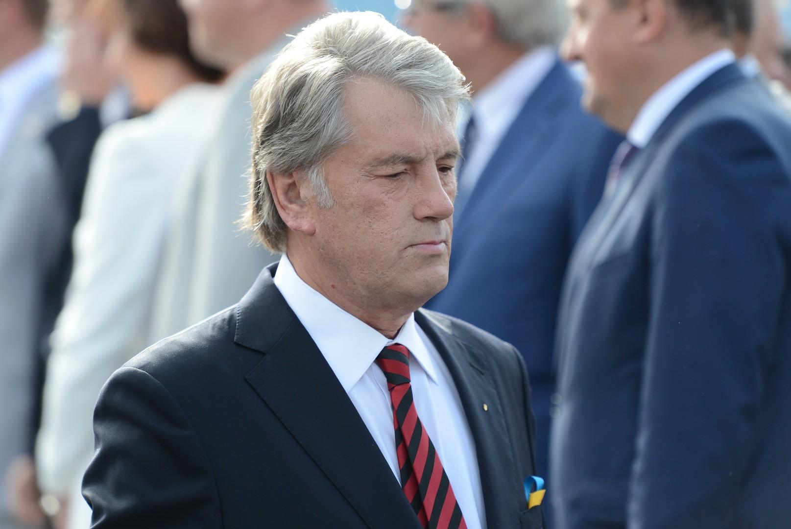 Ющенко рассказал, почему Украина потеряла Крым