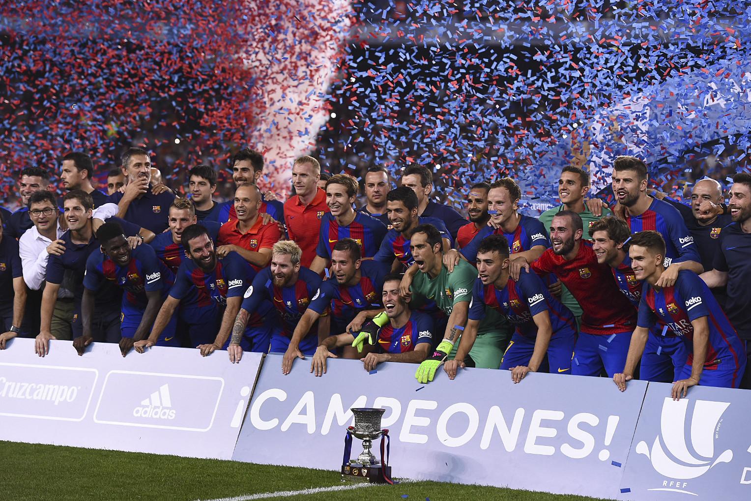 «Барселона» взяла 12-й Суперкубок Испании в своей истории