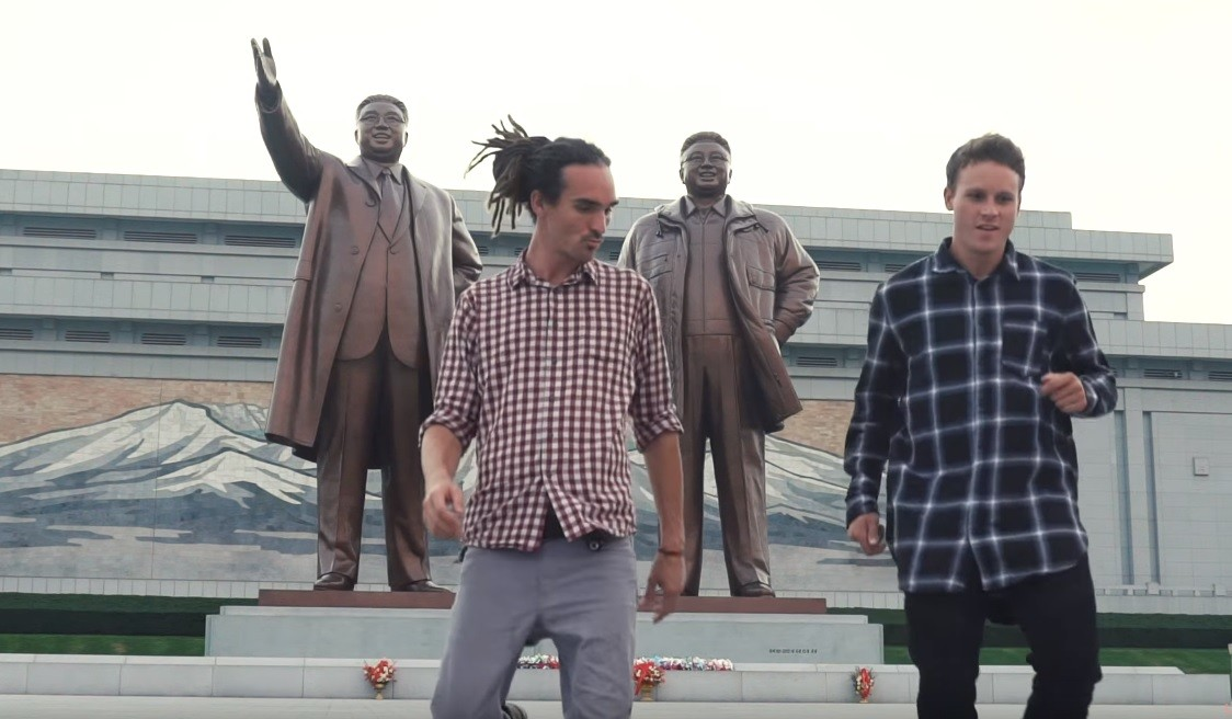 Британского блогера обвинили в пропаганде за его путешествие в КНДР