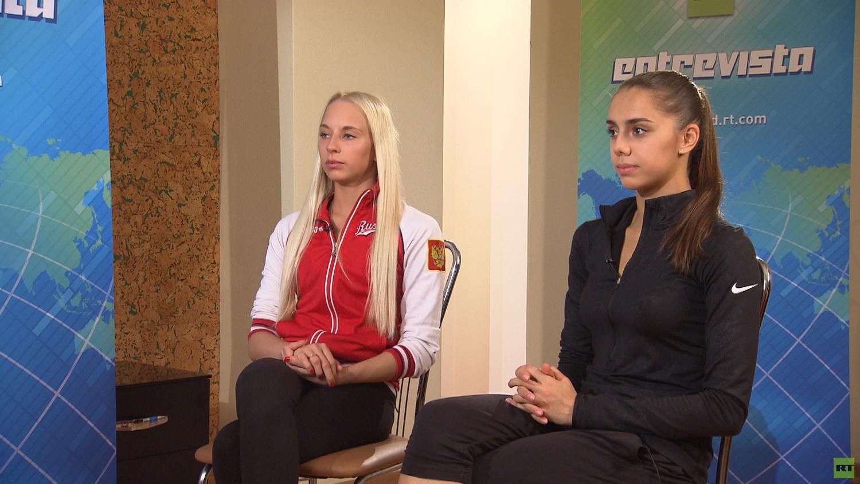Российские гимнастки в интервью RT: Мы всегда выигрываем, потому что у нас лучшие условия
