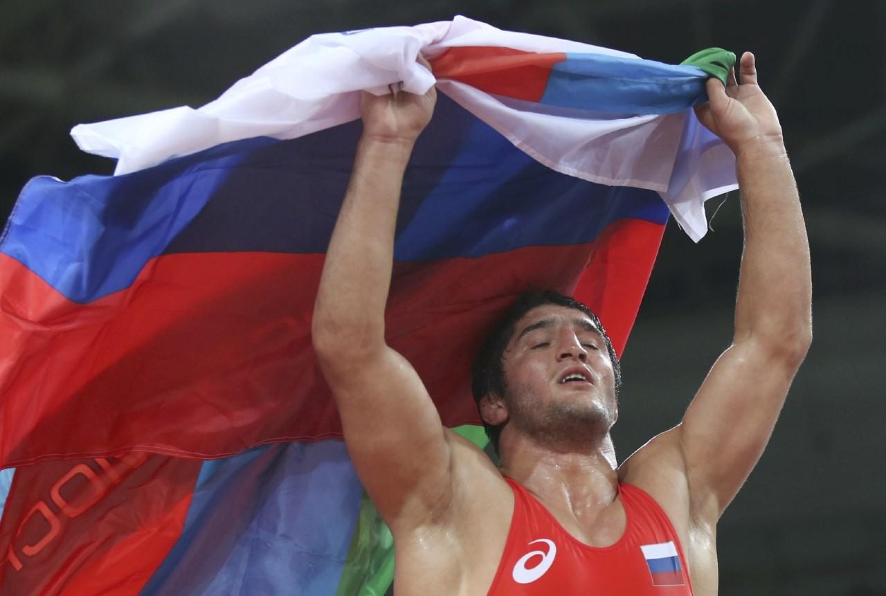 Российский борец Абдулрашид Садулаев выиграл золото Олимпийских игр