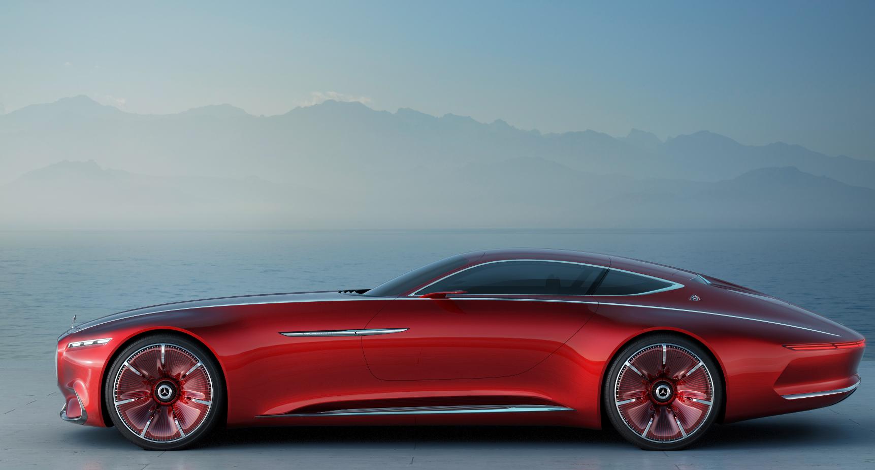 Vision Mercedes-Maybach 6: чудный концептуальный автомобиль длиной 5,6 метра