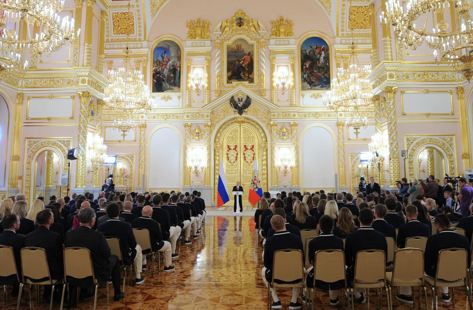 Путин: Российские олимпийцы продемонстрировали мужество и волю