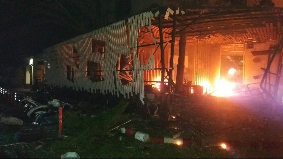 В Таиланде у отеля произошёл взрыв, есть жертвы