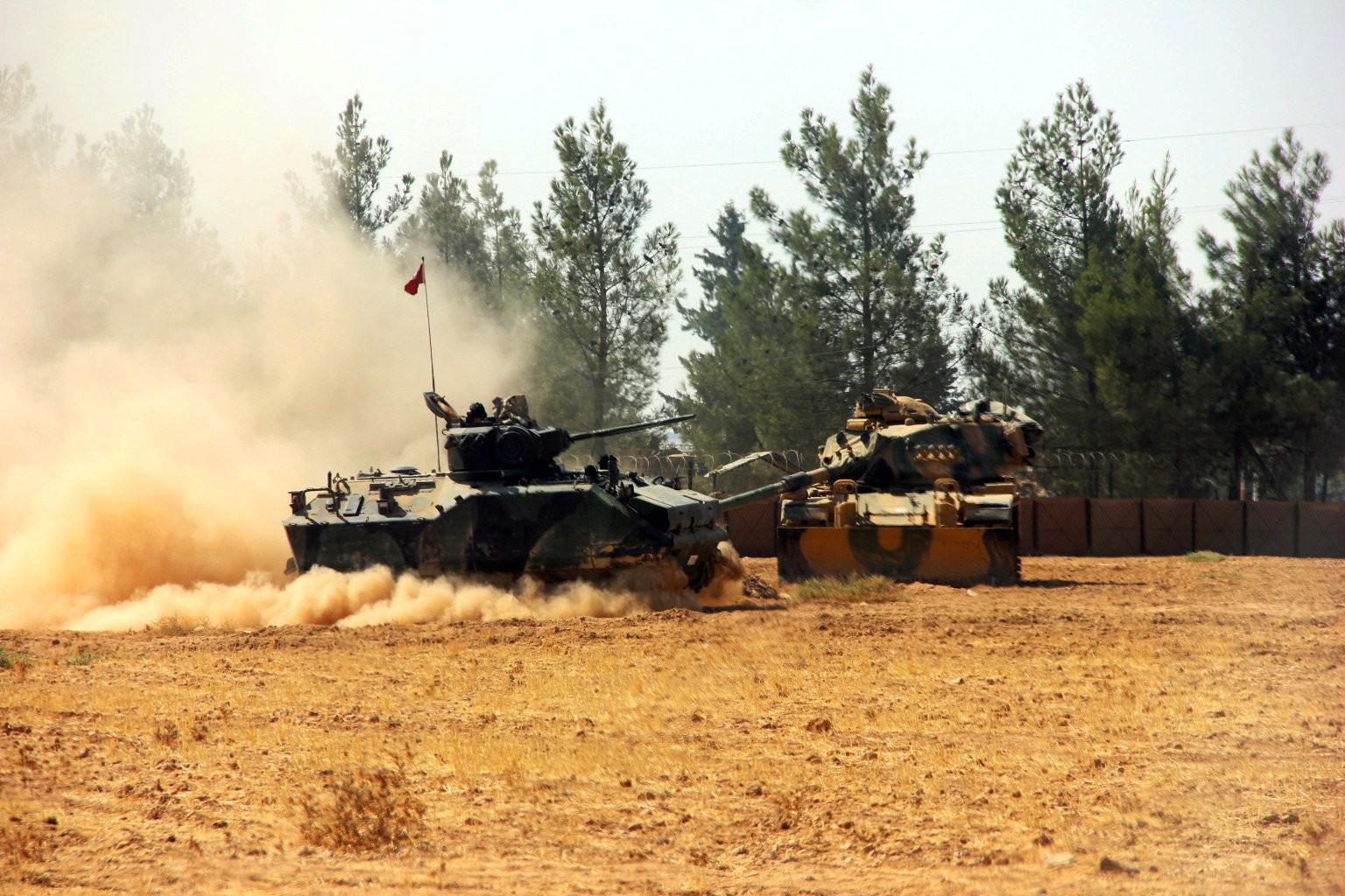 Когда цель не видна: с чем пришли в Сирию турецкие войска
