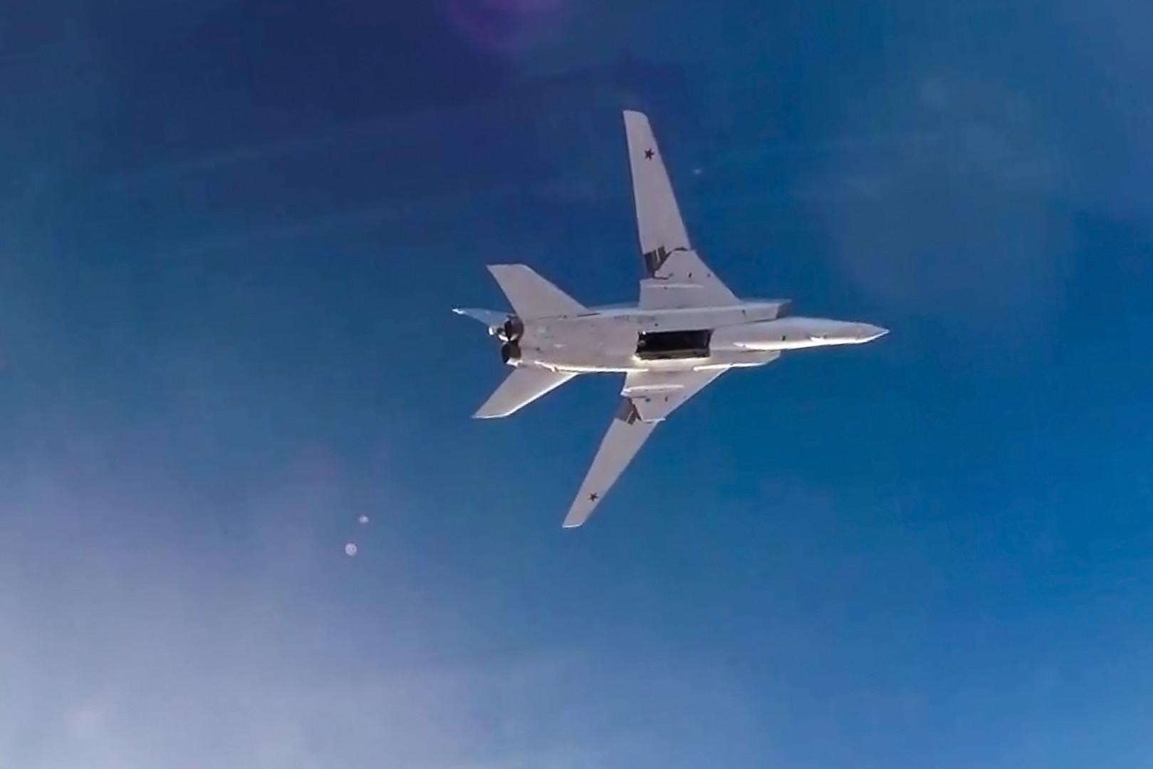 Уход российских самолётов с авиабазы в Иране