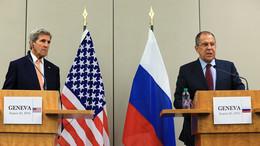 «Несколько важных шагов вперёд»: Сергей Лавров и Джон Керри подвели итоги встречи в Женеве