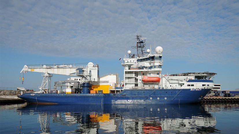 Эстонский ледокол из-за антироссийских санкций стоит в порту и приносит убытки