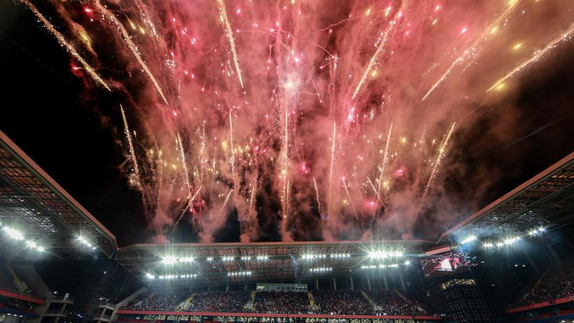 ЦСКА в День города разгромил «Терек» на новом стадионе
