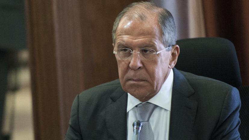 Лавров: весь мир считает приоритетной задачей в Сирии борьбу с терроризмом