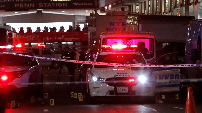 ФБР проводит спецоперацию в Бруклине после серии взрывов