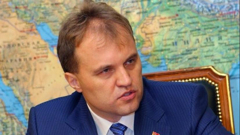 Президент Приднестровья — RT: Между Трампом и Клинтон я выбираю Путина