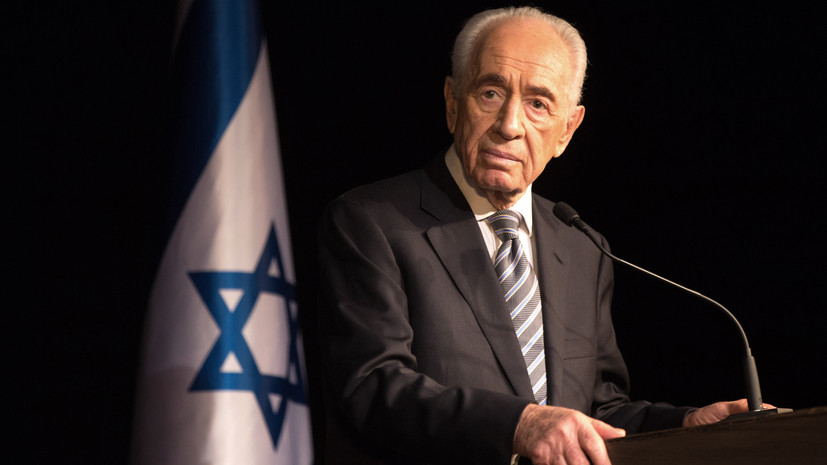 Скончался экс-президент Израиля Шимон Перес