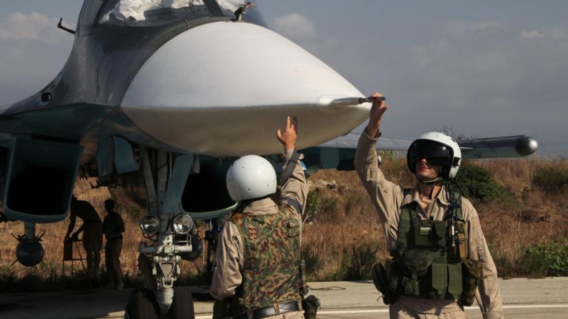 Год на дальнем рубеже: 10 лучших видео операции ВКС России в Сирии