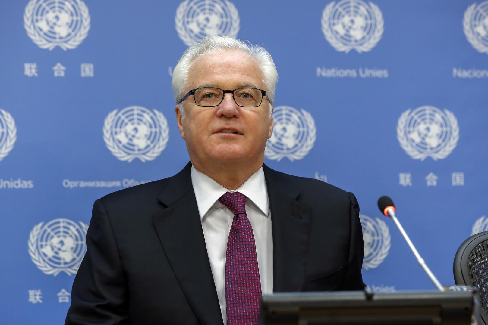 Чуркин назвал приоритетные для России темы на Генассамблее ООН