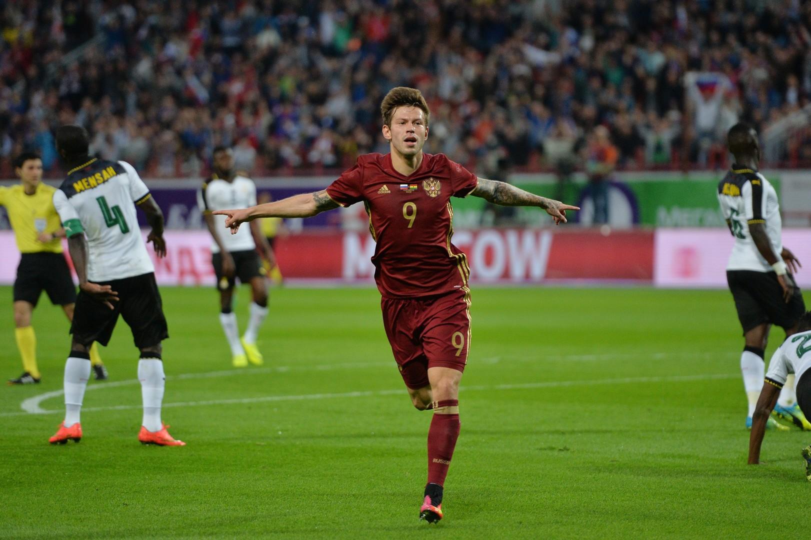 Первая победа Черчесова: футбольная сборная России обыграла Гану в товарищеском матче