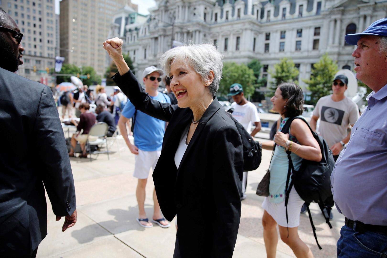 В США суд санкционировал арест кандидата в президенты от Партии зелёных Джилл Стайн