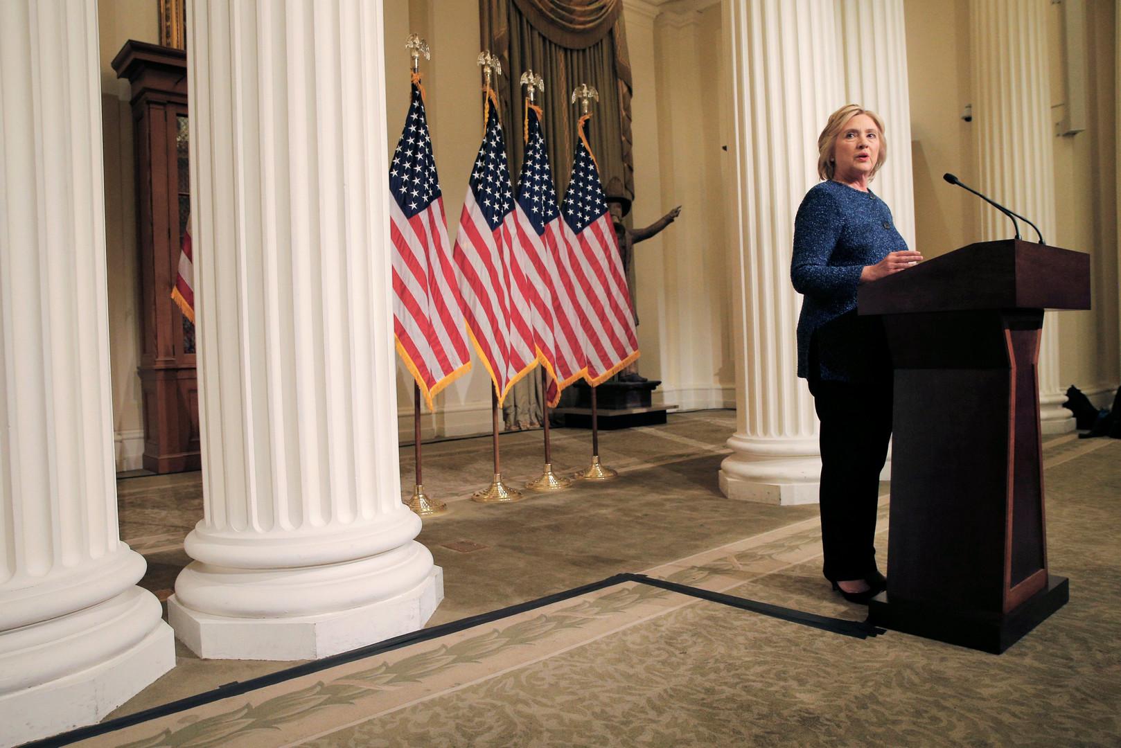 «Определённо разочарована»: Клинтон не понравилось интервью Трампа на RT