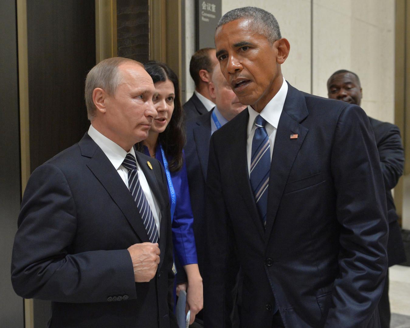 Владимир Путин и Барак Обама на полях G20 провели переговоры по Украине и Сирии